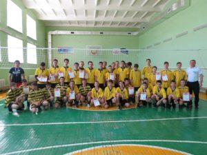 Турнир по волейболу среди юношей 2003-2005 г.р.
