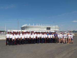 Орловские кадеты на чемпионате мира по футболу FIFA 2018