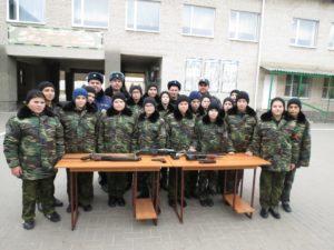 Традиционная встреча с сотрудниками ОМВД РФ