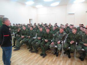 Встреча с преподавателем Московского института пограничных войск ФСБ России